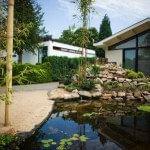 Japanse stijl tuin